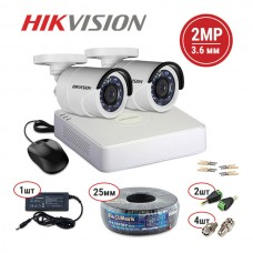 Hikvision TVI 2 out