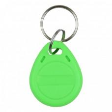 RFID KEYFOB EM RW Green
